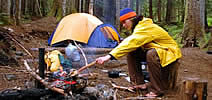 camping saline wound care